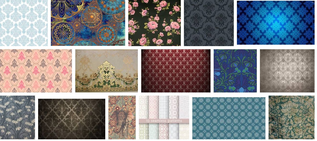 Vintage Inspired Wallpaper Patterns & Designs+kenya