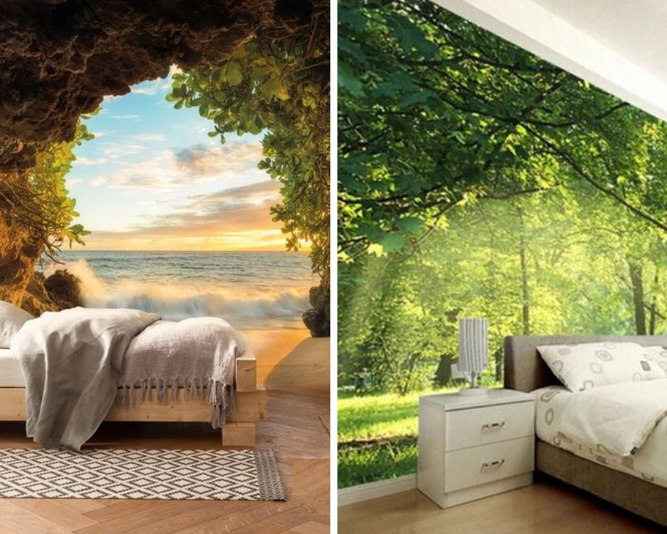 nature House Wallpaper Designs