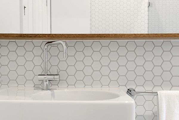 3D Mirror Hexagon Design wallpaper