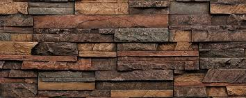 3D Stacked Stone or Brick Pattern