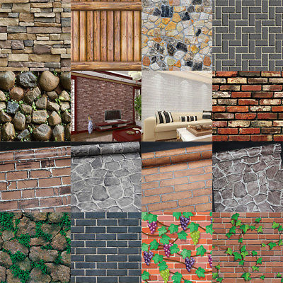 Brick-Wall-Paper-Sticker-Kitchen-Bathroom-Home-Waterproof