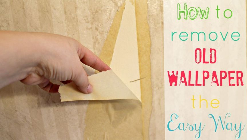 ways to remove wallpaper kenya
