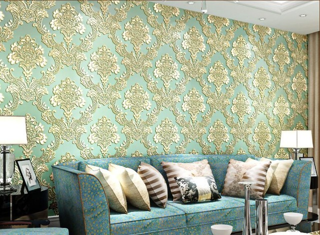 Advantages of Embossed Wallpaper