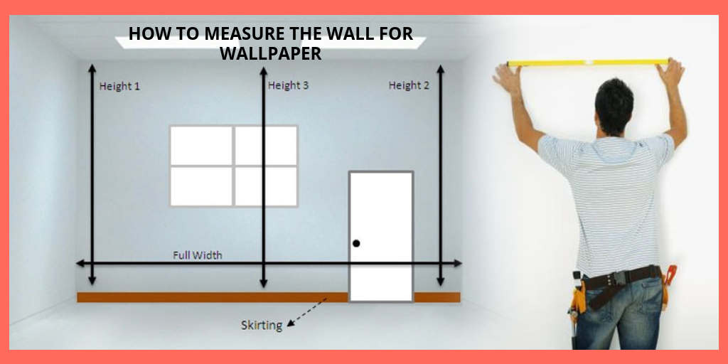 how to measure the wall for wallpaper in kenya