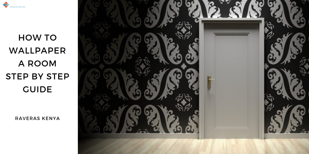 how to wallpaper a room step by step guide