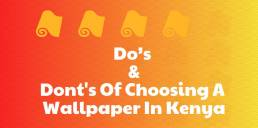 choosing wallpaper in kenya